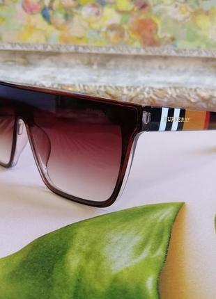 Эксклюзивные брендовые солнцезащитные очки маска унисекс 20214 фото
