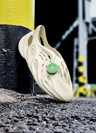 Мужские женские 36-45 летние сандалии тапочки adidas yeezy foam rnnr