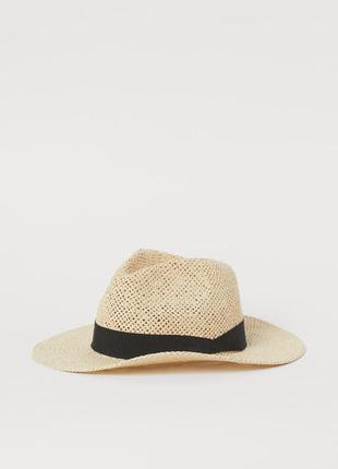 Шляпа, соломенная шляпа h&m