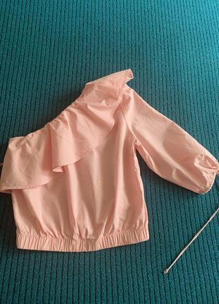 Блузка короткая