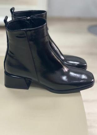 Ботинки женские деми зима натуральная кожа замша италия