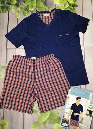 Пижама мужская супер качество футболка и шортики
