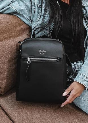 Черный рюкзак david jones