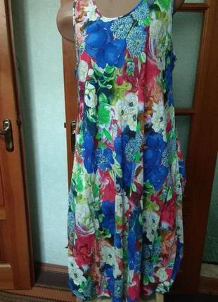 Летнее женское платье  сарафан