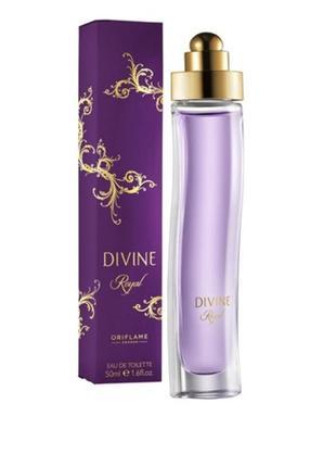 Женская туалетная вода divine royal дивайн роял орифлейм oriflame