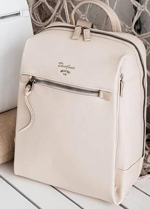 Бежевый/пудровый рюкзак david jones