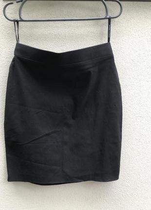 Чёрная юбка маленький размер