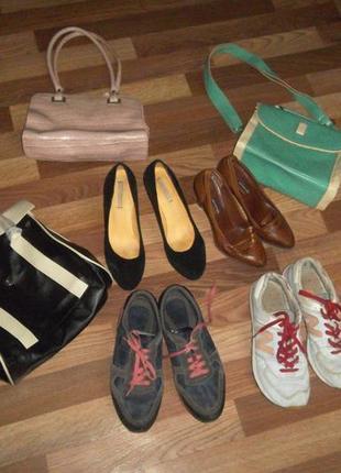 Продам лотом обувь и сумки