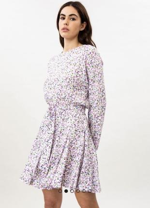 Неймовірної краси плаття lefties , віскоза, плаття в ніжно -ділових тонахxs❤️❤️❤️