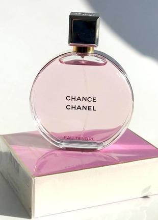 Chanel chance eau tendre оригинал_eau de toilette 7 мл затест