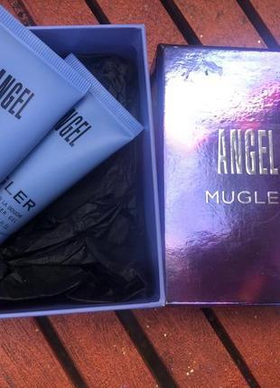 Thierry mugler angel duschgel и body lotion подарочный набор.