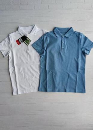 Набір футболок поло next розм. з 3 р./98 по 13 р./158