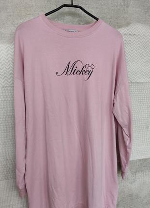 Розовая пайта платье