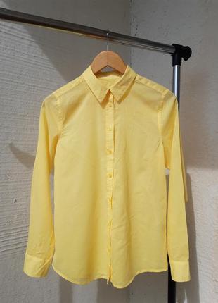 Тончайшая летняя рубашка benetton s р