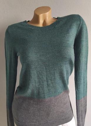 Джемпер, свитер (100 % мериносовая шерсть), меланж