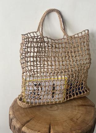 👜 натуральна сумка ручної роботи