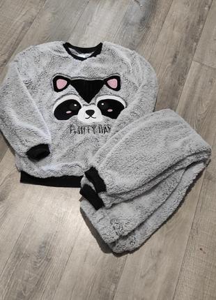 Плюшева піжама