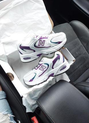 Nb 530 abzord ежевичные кроссовки
