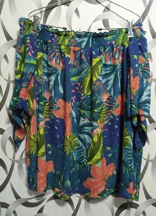Красивая блузка батал