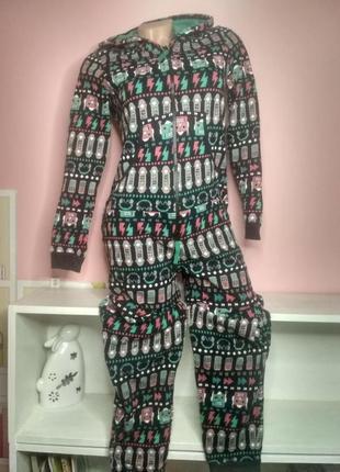 Слип кигуруми человек костюм для дома пижама