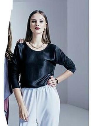 Женская блуза лонгслив premium collection by esmara германия размер m большемерит. rr