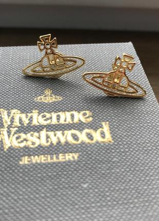 Серьги vivienne westwood