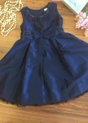 Шикарное вечернее платье ,сарафан для вечеринки на малышку george 2-3 года.