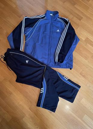 Спортивный костюм батал adidas р58/60