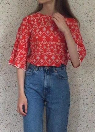 Красная блуза от primark