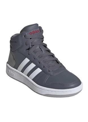 Детские хайтопы, высокие кроссовки adidas, 100% оригинал