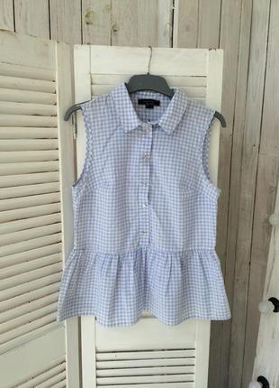 Легкая натуральная блуза рубашка