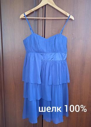 """P.12 """"warehouse"""" платье шелковое шелк 100%"""