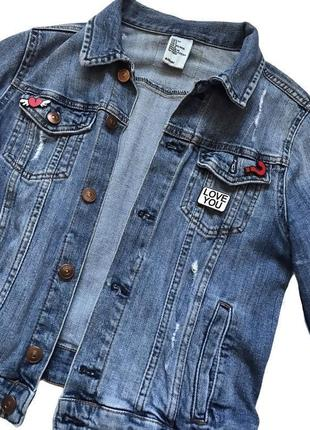 Джинсовка h&m / джинсовая куртка