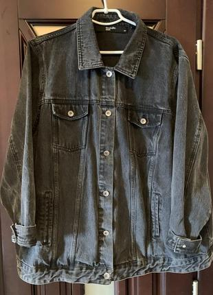 Куртка джинсовая оверсайз