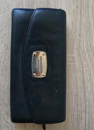 Michael kors оригинальный кожаный кошелек с номером