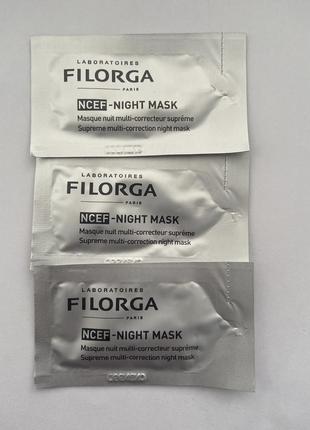 Ночная маска для лица filorga ncef night mask
