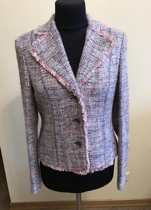 Текстильный стильный пиджачок без подкладки rabe