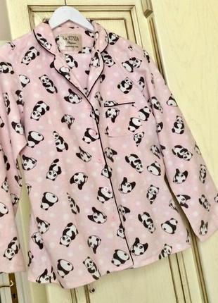 Фланелевая пижама с пандой 🐼 la senza