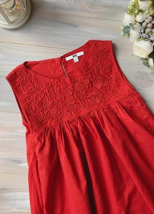 Вишита блуза вишиванка вишитий топ японський бренд uniqlo