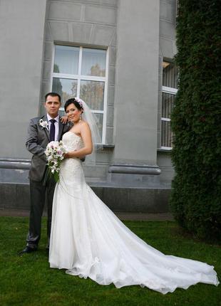 Свадебное платье мирового бренда enzoani