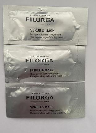Скраб-маска для лица filorga scrub & mask
