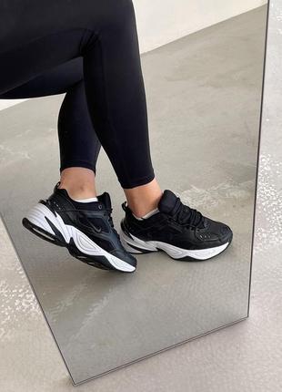 Nike m2k tekno кроссовки черные