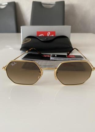 Новые солнцезащитные очки ray ban rb3356-n  оригинал