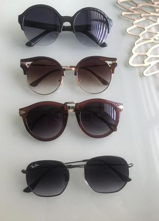 Солнезащитные женские очки