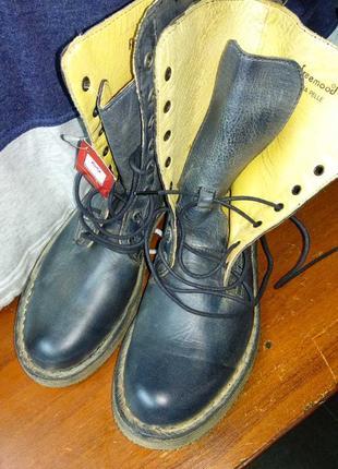 Ботинки кожанныеfremooq
