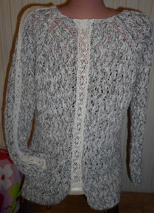 #свитшот  турция #zara#меланжевый пуловер #кофта # #