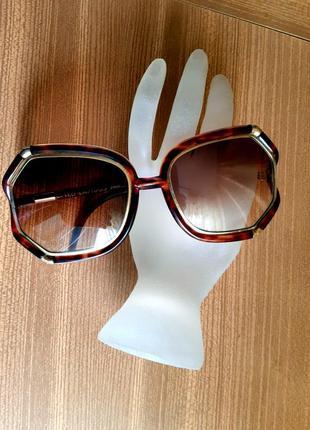 Солнцезащитные очки в форме бабочки.ted lapidus. paris.франция винтаж -70гг.