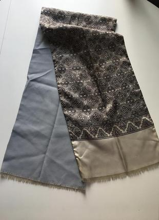 120*26 двойной мужской статусный шарф