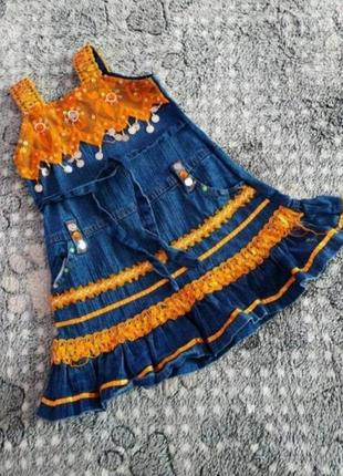Плаття-сарафан на 4-5 років