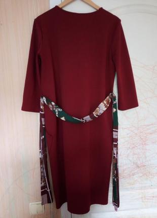 Платье  zara с накладными карманами3 фото
